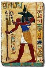 Anubis, le dieu de la mort